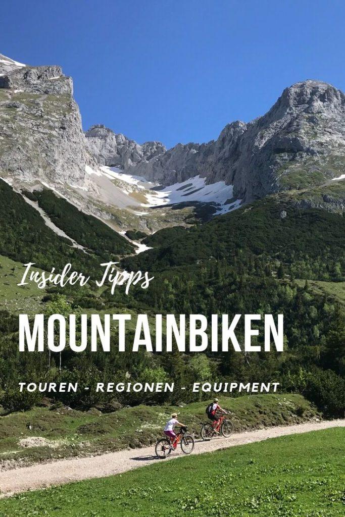 Mountainbike Urlaub Tipps merken - die besten Touren, Regionen und MTB Equipment