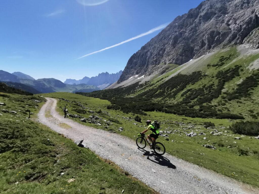 MTB Touren Bayern - hier auf der Traumtour im Karwendel