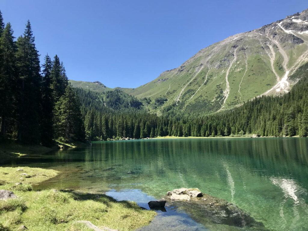 MTB Urlaub am Obernberger See - du kannst mit dem Mountainbike hierher fahren